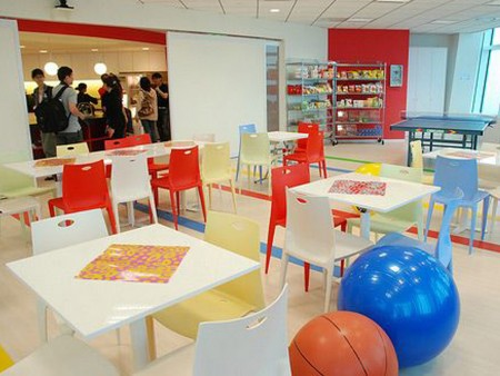 ¿Cómo son las oficinas de Google?: comida gratis
