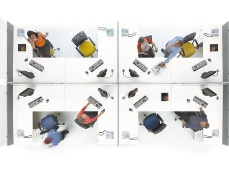 Ergonomía en el trabajo de oficina: mesas y sillas adaptadas a cada puesto