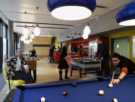 ¿Cómo son las oficinas de Google?: juego
