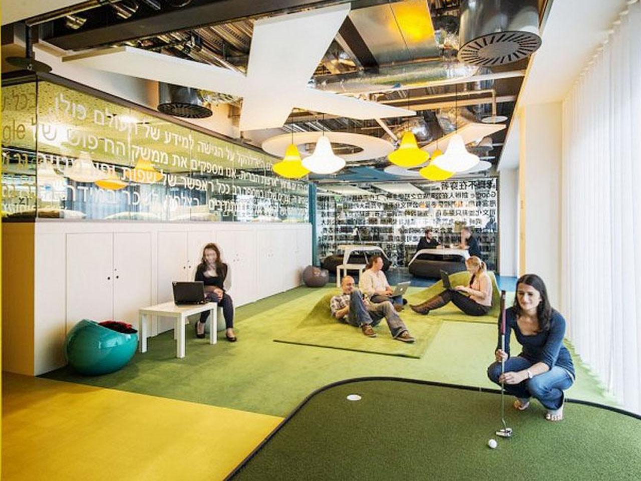 C mo son las oficinas de google for Oficinas google barcelona