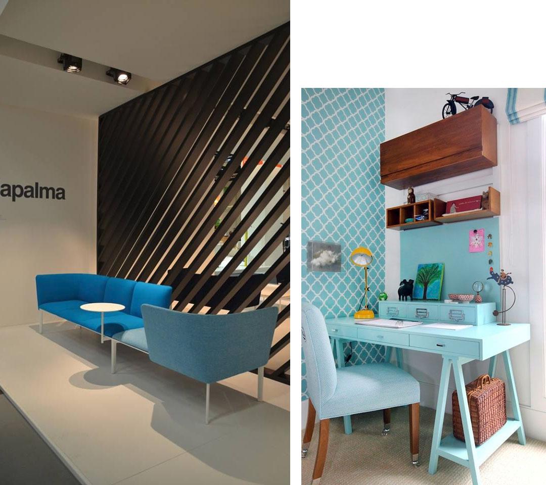 No te pierdas los 6 colores para oficinas modernas for Planos de oficinas pequenas modernas