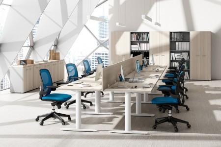 Colores para oficinas minimalistas
