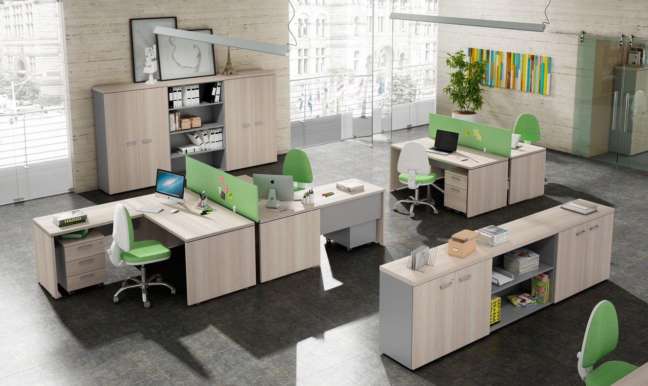 5 claves para conseguir unas oficinas minimalistas for Ejemplos de oficinas