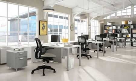 Oficinas minimalistas