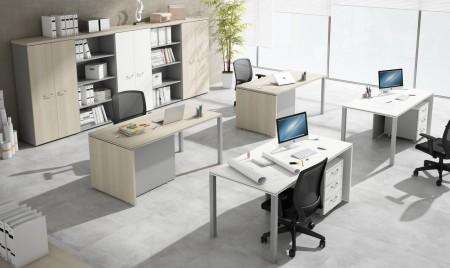 Muebles minimalistas para el trabajo