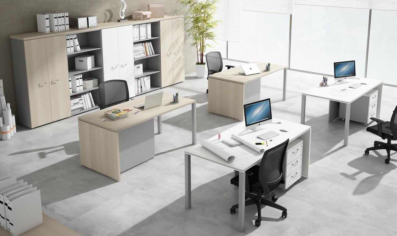 5 claves para conseguir unas oficinas minimalistas for Muebles oficina minimalista