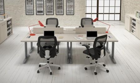 Materiales para oficinas minimalistas