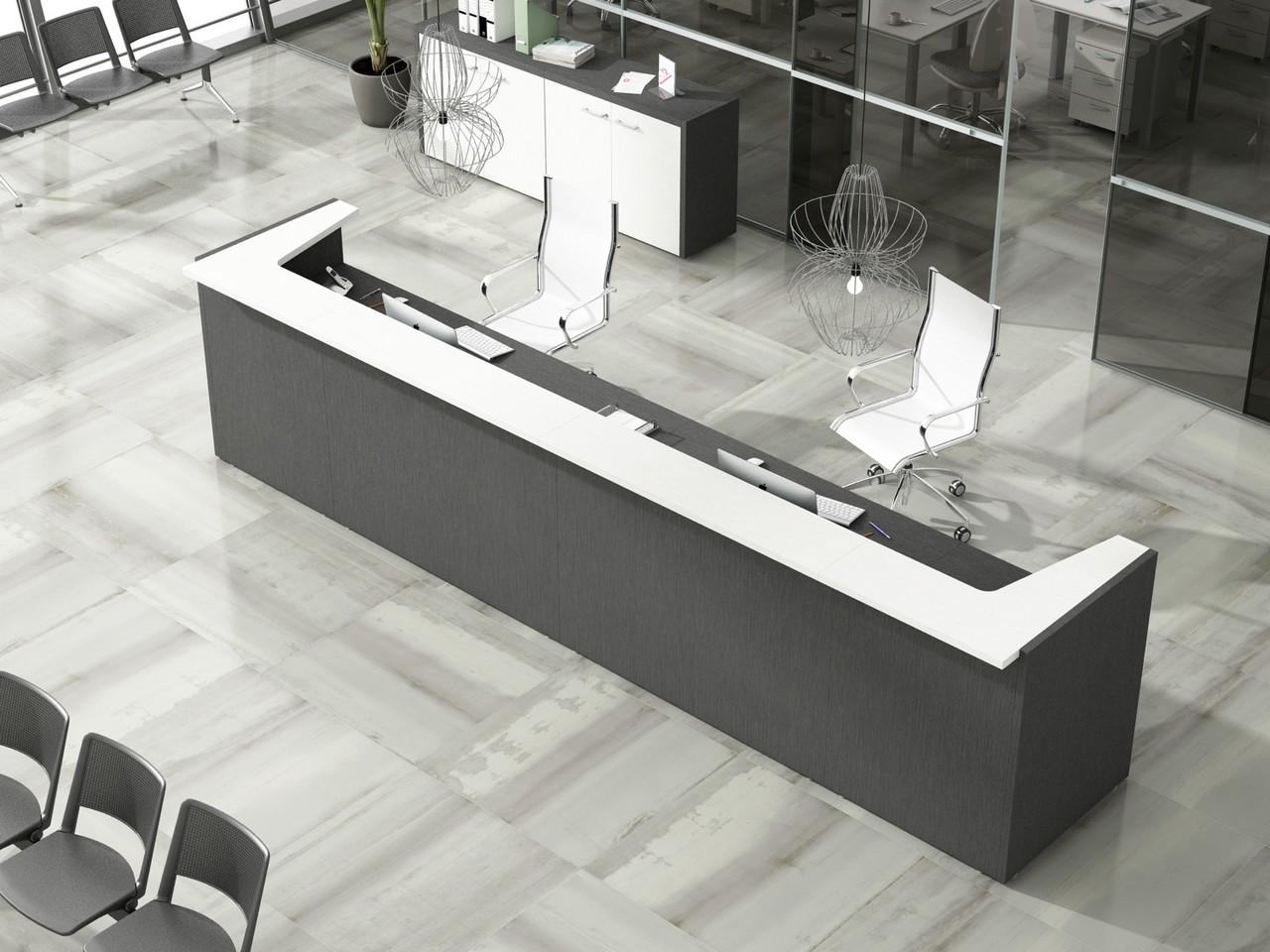 5 claves para conseguir unas oficinas minimalistas - Mostradores para oficinas ...