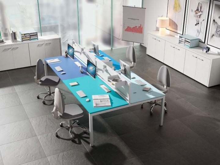 colores para oficina: azul