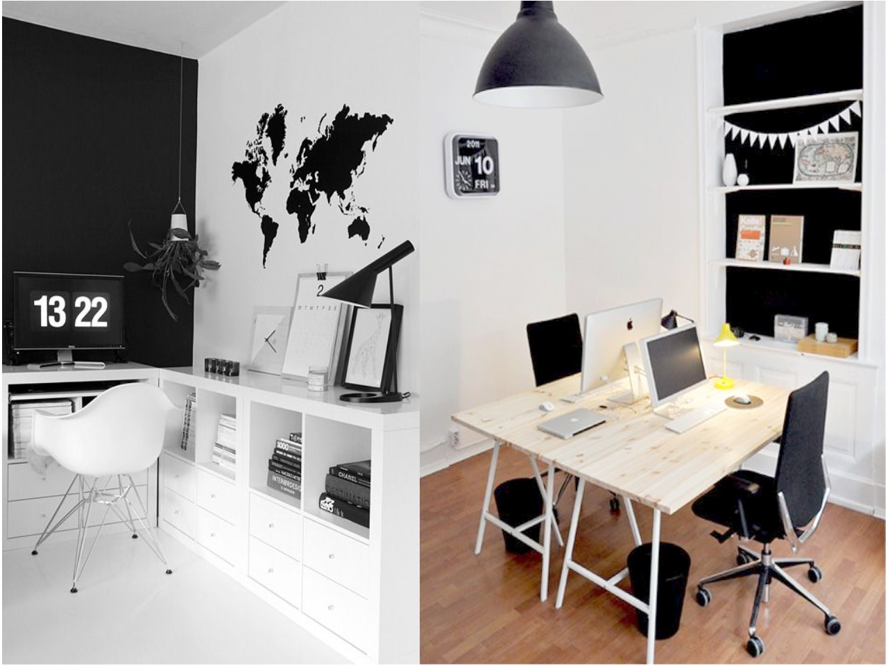 7 tips en dise o de oficinas peque as y modernas for Imagenes oficinas modernas
