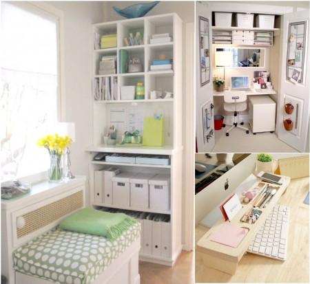 Diseño y decoración de oficinas pequeñas modernas