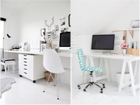 Oficinas pequeñas modernas