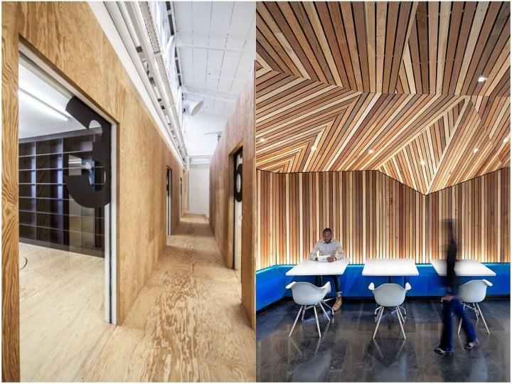 Decoracion De Oficinas Con Madera - Leeros-de-madera
