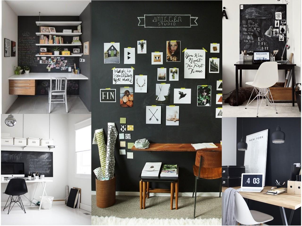 7 paredes originales para oficinas que te inspirar n for Pizarra oficina