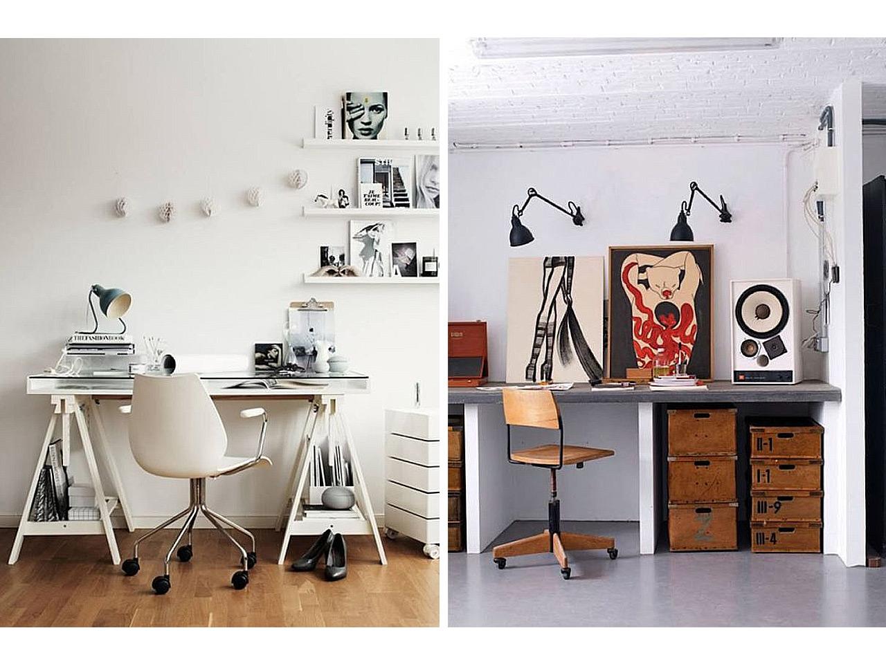 La mejor decoraci n de oficinas peque as en casa for Decoracion cubiculo oficina