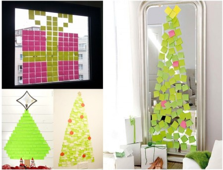 decoración navideña de oficinas