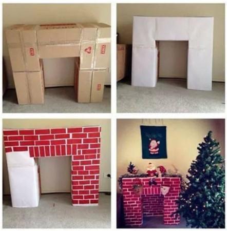 decorar la oficina en Navidad