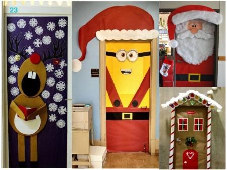 decoración navideña original para oficinas