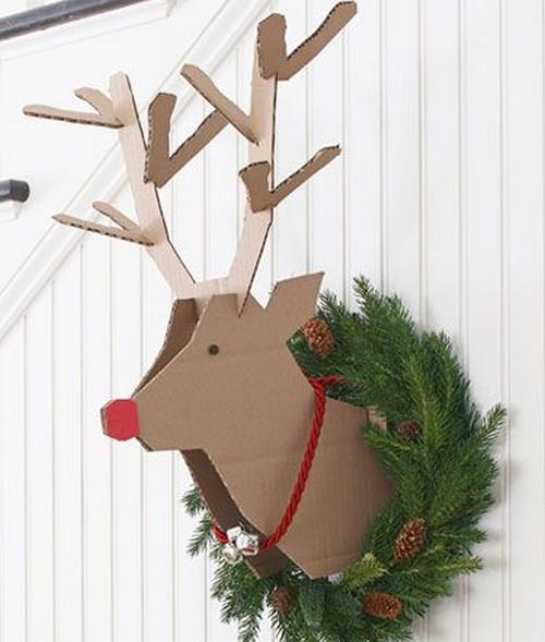 5 ideas de decoraci n navide a para oficinas for Decoracion para puertas de preescolar