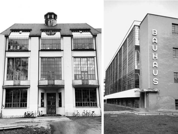 Bauhaus Weimar y Bauhaus Dessau