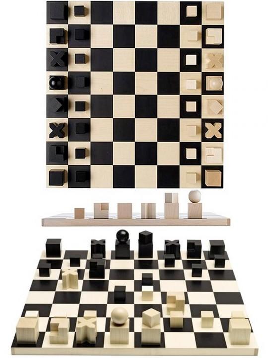 ajedrez de la bauhaus