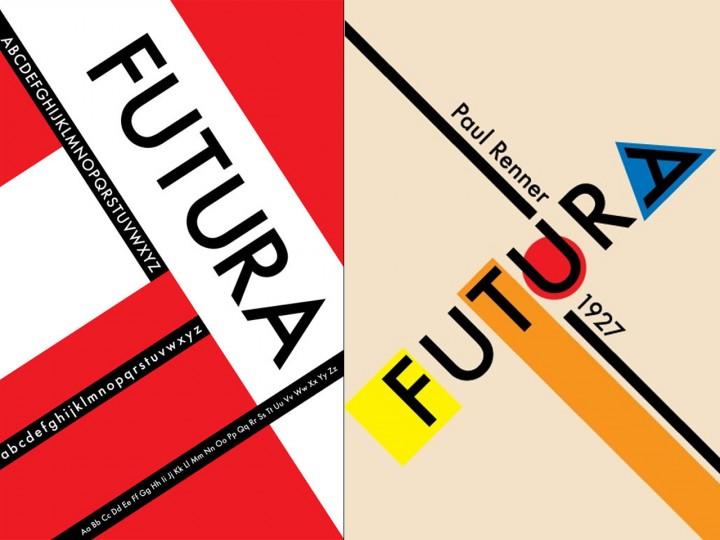 tipografia futura bauhaus