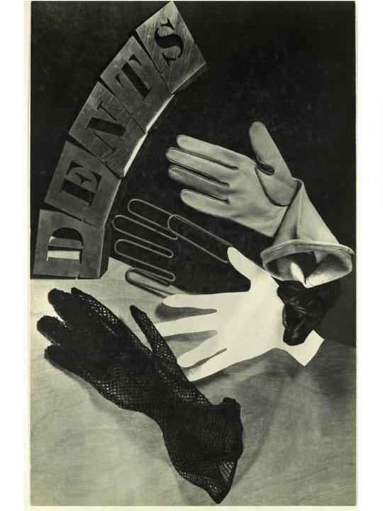 Anuncio de guantes con Ellen Auerbach