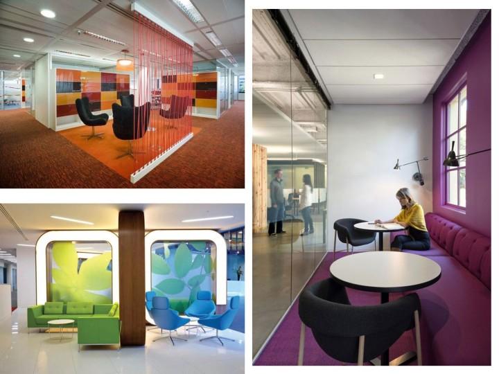 espacios multifuncionales en oficinas