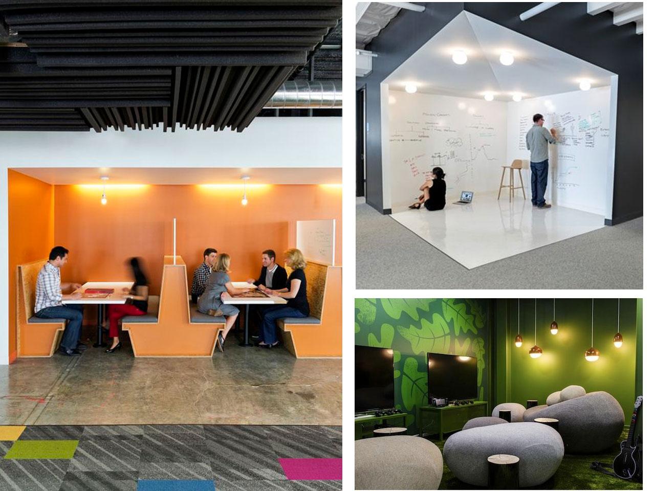 Tendencias oficinas 2016 2017 dise o de interiores for Espacios para oficinas