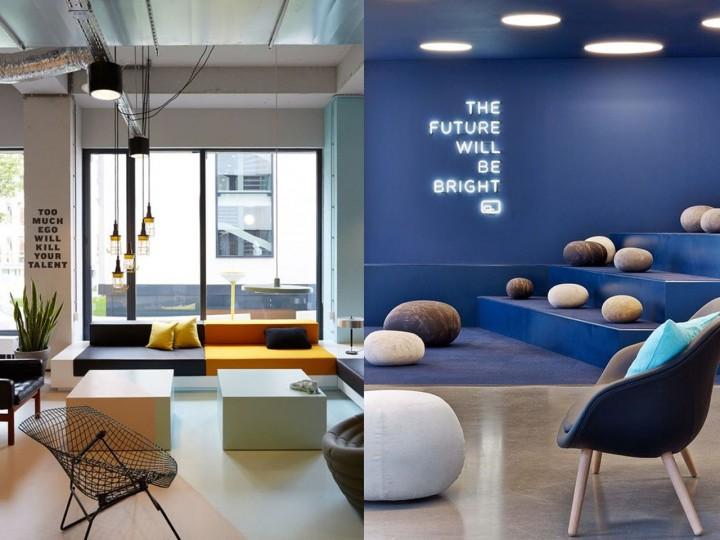 Las mejores ideas para salas de descanso en empresas for Areas de una oficina