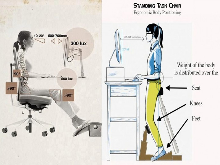 ergonomía de las sillas