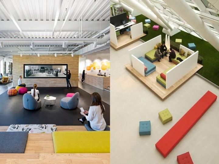 salas de descanso en empresas zonas de reuniones