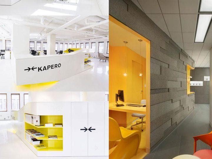 amarillo en las oficinas