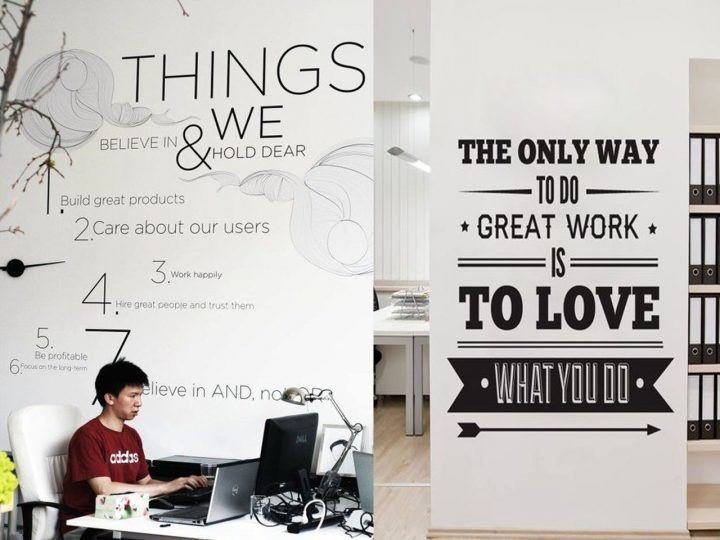 mensajes originales en oficinas