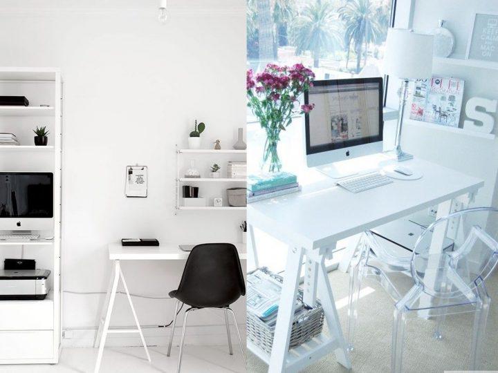 escritorio de oficina ordenado