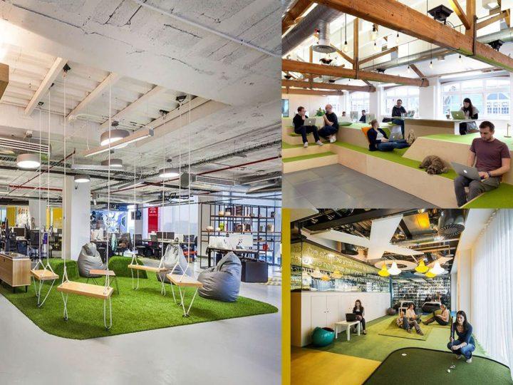 espacios de trabajo club