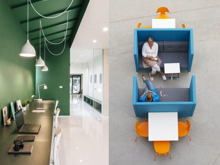 espacios de trabajo hoteling