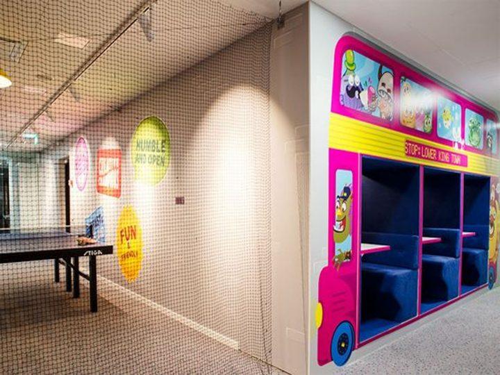 sala de juegos oficinas de candy crush