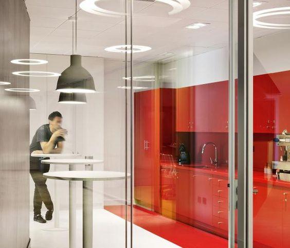 cafetería oficinas de Sony Music