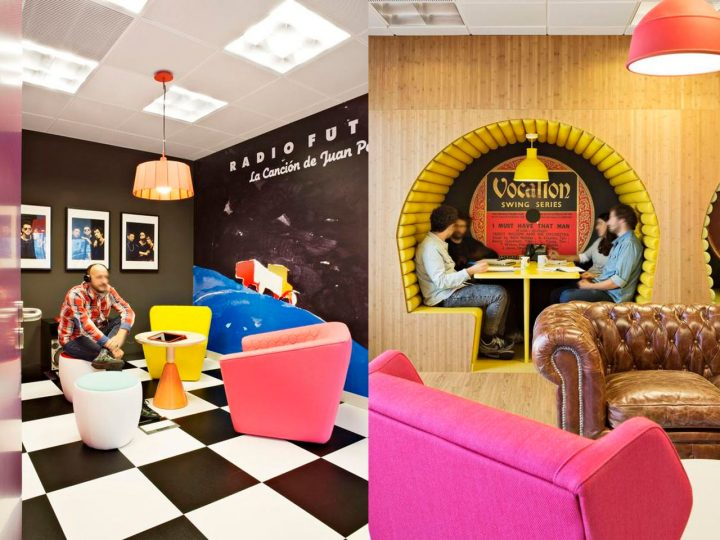 sala musica oficinas de Sony Music