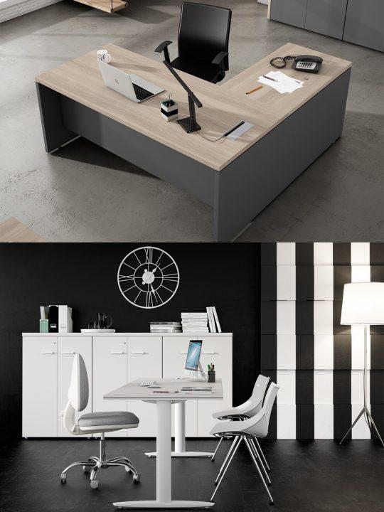cómo elegir una mesa de oficina estabilidad