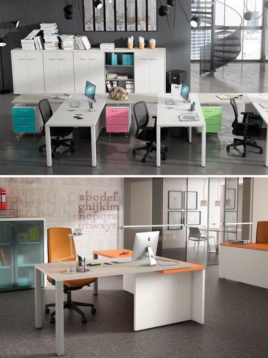 cómo elegir una mesa de oficina espacio