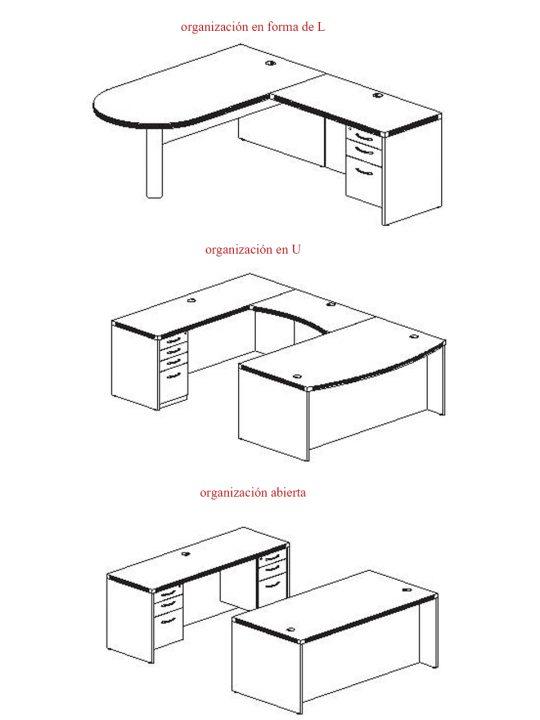 cómo elegir una mesa de oficina tipos de mesas