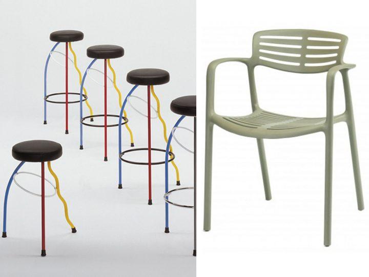 diseño industrial en la posmodernidad taburete silla