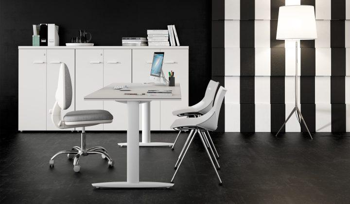 estilos de decoración para oficina estilo minimalista