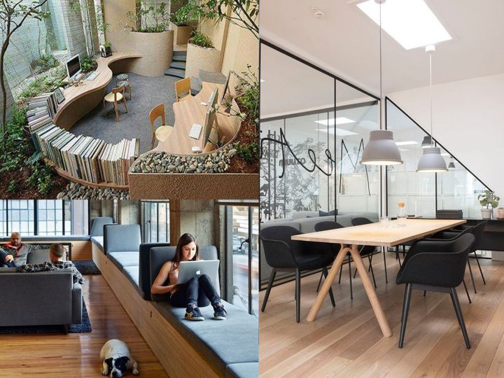 7 fant sticas ideas de decoraci n oficinas modernas On decoracion oficinas modernas