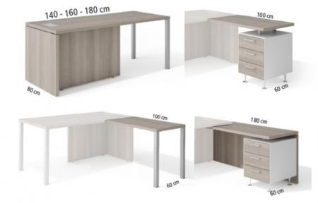 Mesas de oficina modulares para despachos