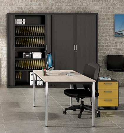 Cajonera moderna para escritorio de oficina
