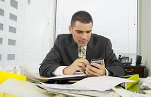 tecnología en la oficina distracciones