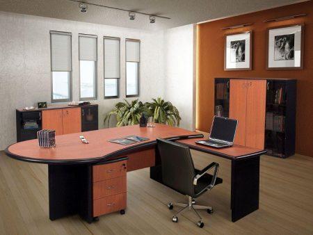 despacho de oficina madera
